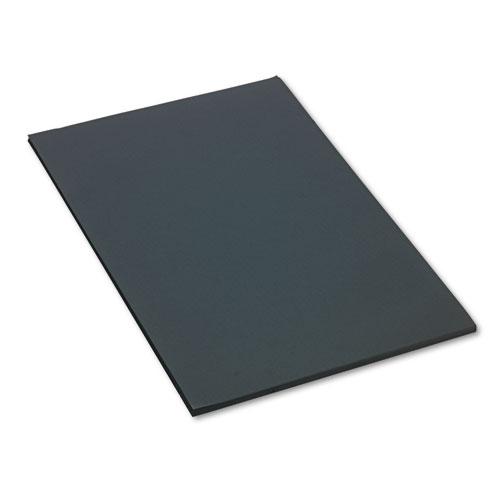 SunWorks® Construction Paper, 58 lbs., 24 x 36, Black, 50 Sheets/Pack