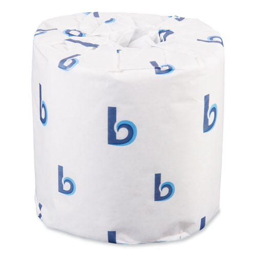Boardwalk® Two-Ply Toilet Tissue, Septic Safe, White, 4 x 3, 400 Sheets/Roll, 96 Rolls/Carton