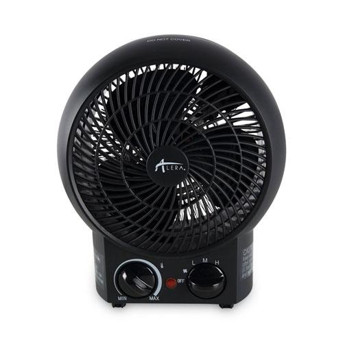 "Alera® Heater Fan, 8 1/4"" x 4 3/8"" x 9 3/8"", Black"