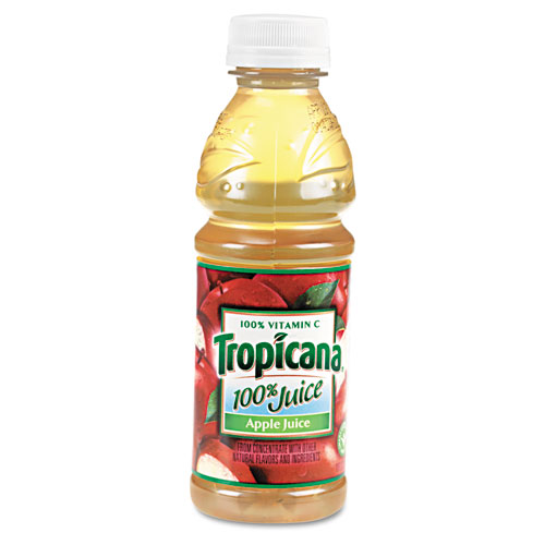 100 Juice, Apple, 10oz Bottle, 24/Carton