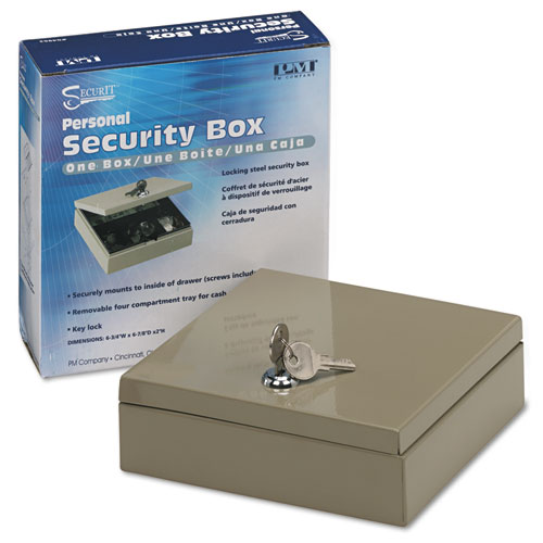 Pmc04962 Pm Company 174 Securit 174 Steel Personal Cash Security