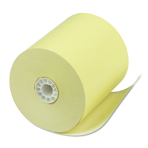 Direct Thermal Printing Thermal Paper Rolls, 3.13 x 230 ft, Canary, 50/Carton