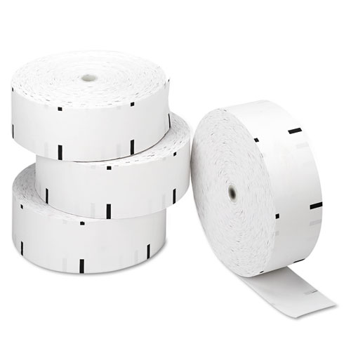 Direct Thermal Printing Paper Rolls, 0.69 Core, 3.13 x 1960 ft, White, 4/Carton