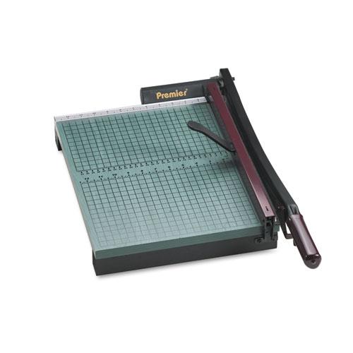 "Premier® StakCut Paper Trimmer, 30 Sheets, Wood Base, 12 7/8"" x 17-1/2"""