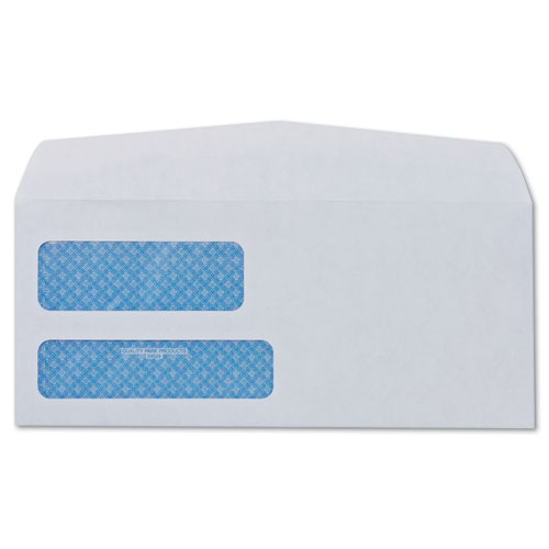 2 window security tinted check envelope 8 5 8 3 5 8 x 8 for 2 window envelope