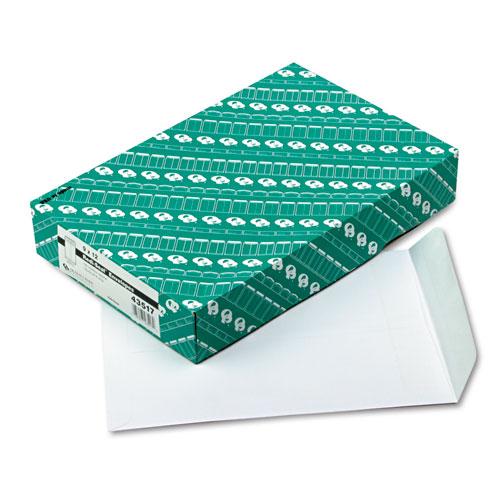 Quality Park™ Redi Seal Catalog Envelope, 9 x 12, White, 100/Box