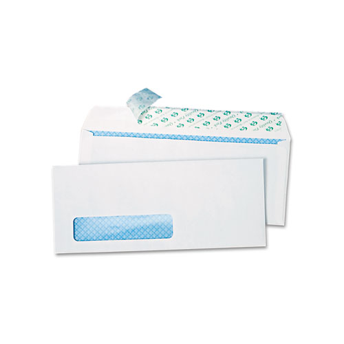 Redi strip security tinted window envelope 10 4 1 8 x 9 for 2 window envelope