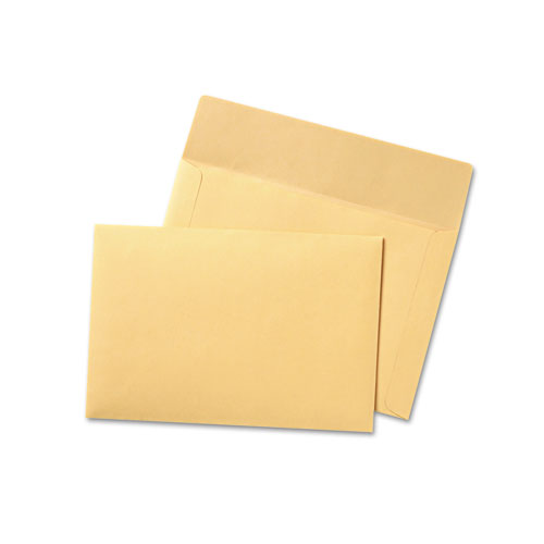 Filing Envelopes, Legal Size, Cameo Buff, 100/Box | by Plexsupply