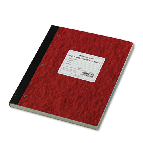 Duplicate Laboratory Notebooks, Quadrille, 11 x 9 1/4, Assorted, 200 Sheets | by Plexsupply