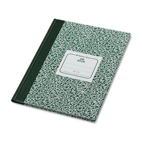 Lab Notebook, Quadrille, 10 1/8 x 7 7/8, White, 96 Sheets | by Plexsupply