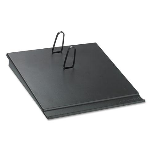 Desk Calendar Base, Black, 3 1/2 x 6