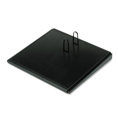 Desk Calendar Base, Black, 4 1/2 x 8