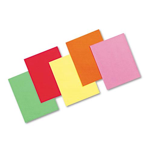 Array Colored Bond Paper, 24lb, 8.5 x 11, Assorted Bright Colors, 500/Ream