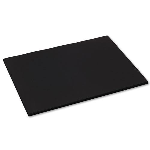 Tru-Ray Construction Paper, 76lb, 18 x 24, Black, 50/Pack