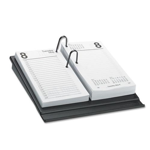 Desk Calendar Refill, 3 1/2 x 6, White, 2019