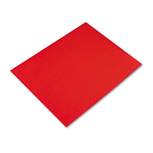 Four-Ply Railroad Board, 22 x 28, Red, 25/Carton
