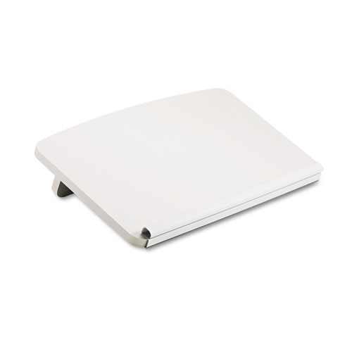 Ergo-Comfort Read/Write Freestanding Desktop Copy Stand, Wood, Gray
