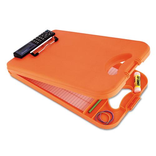 "DeskMate II w/Calculator, 1/2"" Clip Cap, 8 1/2 x 12 Sheets, Hi-Vis Orange | by Plexsupply"