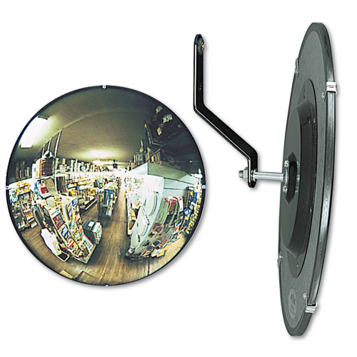 """See All® 160 degree Convex Security Mirror, 12"""" dia."""