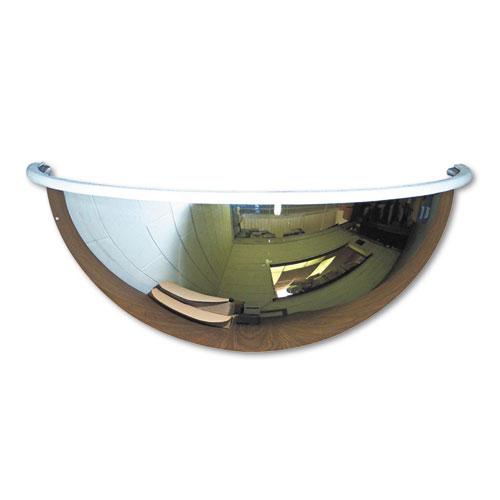 "See All® Half-Dome Convex Security Mirror, 18"" Diameter"