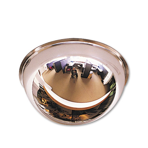 """See All® Full Dome Convex Security Mirror, 18"""" Diameter"""