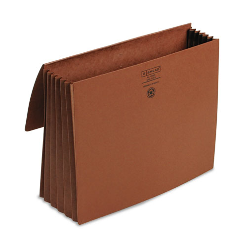 Smead® 5 1/5 in Exp Wallet, 11 3/4 x 9 1/2, Redrope