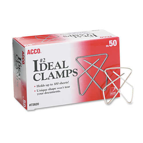 Ideal Clamps, Metal Wire, Small, 1 1/2\