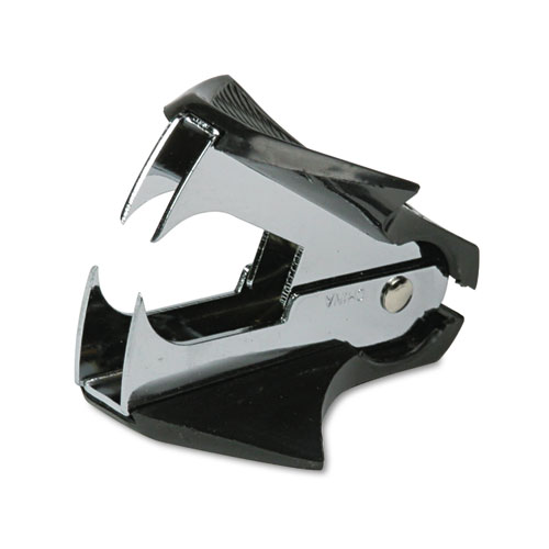 Deluxe Jaw-Style Staple Remover, Black | by Plexsupply