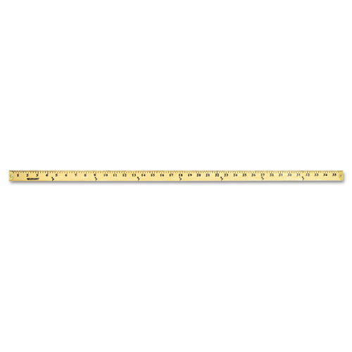 "Wood Yardstick with Metal Ends, 36"" - WebOfficeMart.com"