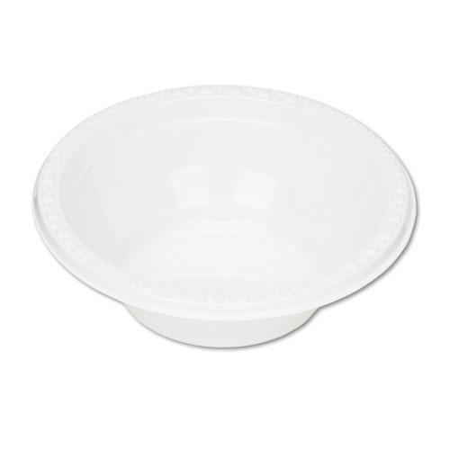 Plastic Dinnerware, Bowls, 5oz, White, 125/Pack