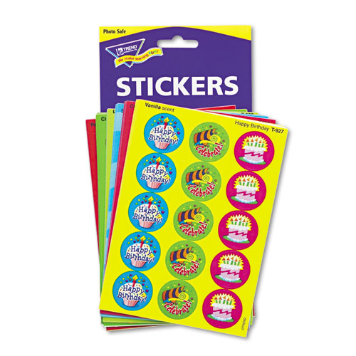 Stinky Stickers Variety Pack, Holidays and Seasons, 435/Pack