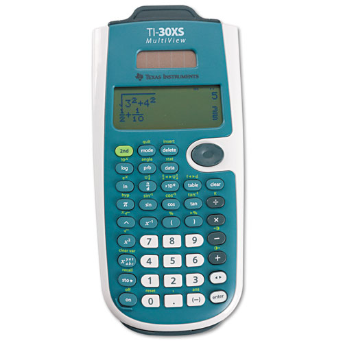 TI-30XS MultiView Scientific Calculator, 16-Digit LCD | by Plexsupply