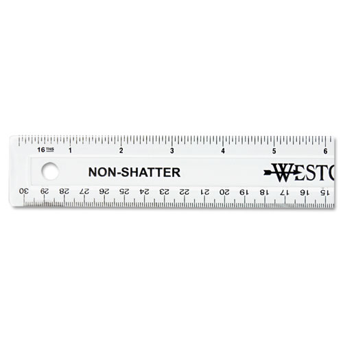 "12"" Shatterproof Ruler 