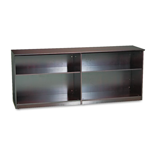 mlnvlccmah mayline veneer low wall cabinet without doors With kitchen cabinets lowes with custom oil change stickers