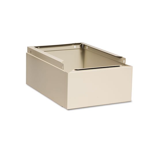 Optional Locker Base, 12w x 18d x 6h, Sand