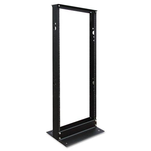 SmartRack 2-Post Open Frame Rack, 25U, 800 lbs Capacity