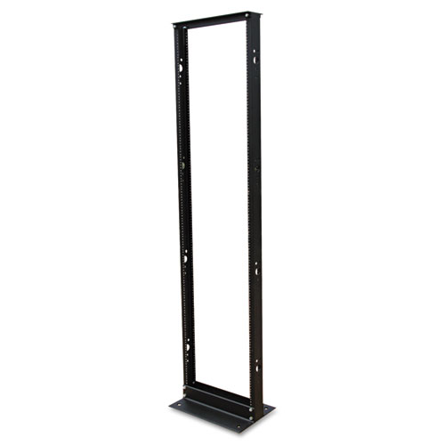 SmartRack 2-Post Open Frame Rack, 45U, 800 lbs Capacity