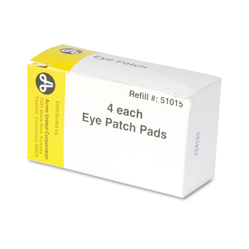 """PhysiciansCare® by First Aid Only® Emergency First Aid Eye Patch, 2"""" x 3"""", 4/Box"""