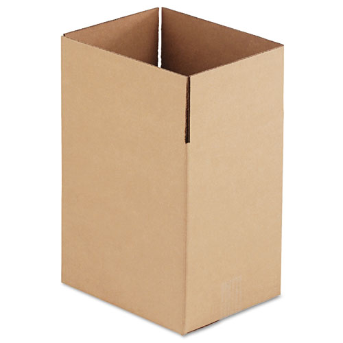Fixed-Depth Shipping Boxes, Regular Slotted Container (RSC), 11.25 x 8.75 x 12, Brown Kraft, 25/Bundle
