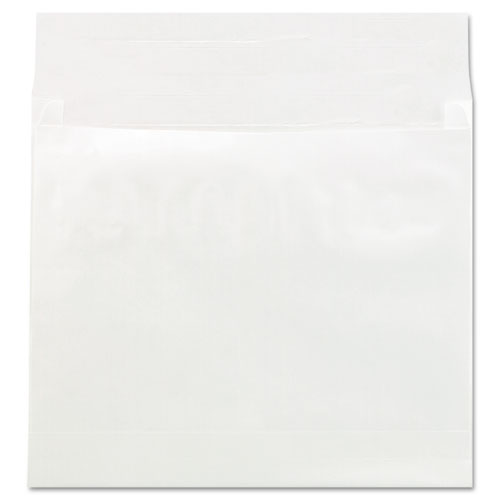 Deluxe Tyvek Expansion Envelopes, Square Flap, Self-Adhesive Closure, 14 x 16, White, 50/Carton