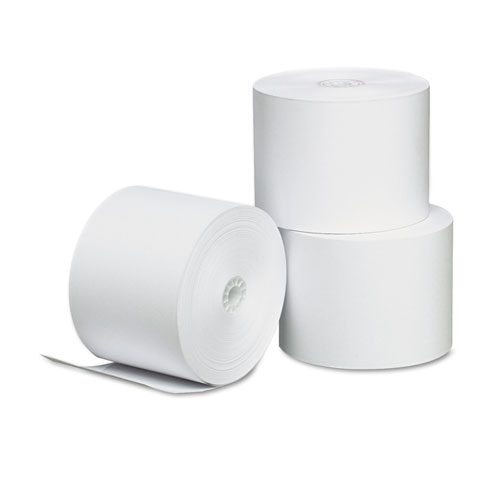 Direct Thermal Printing Paper Rolls, 2.25 x 165 ft, White, 3/Pack