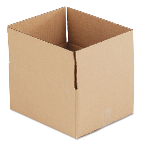 Fixed-Depth Shipping Boxes, Regular Slotted Container (RSC), 12 x 10 x 6, Brown Kraft, 25/Bundle