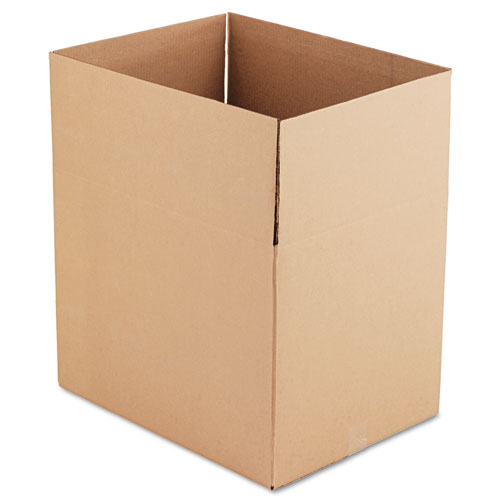 Fixed-Depth Shipping Boxes, Regular Slotted Container (RSC), 24 x 18 x 18, Brown Kraft, 10/Bundle
