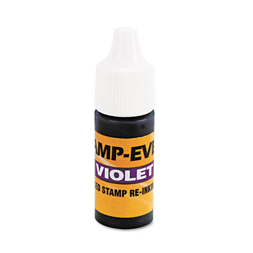 Refill Ink for Clik  Universal Stamps, 7ml-Bottle, Violet