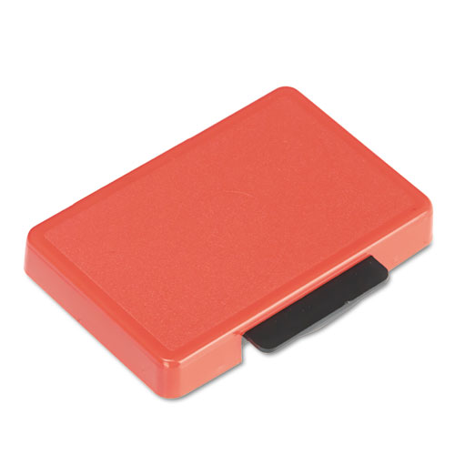 T5440 Dater Replacement Ink Pad, 1 1/8 x 2, Red | by Plexsupply