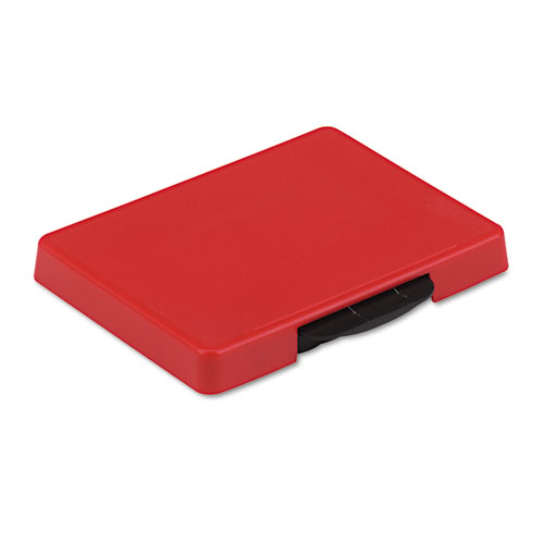 Trodat T5460 Dater Replacement Ink Pad, 1 3/8 x 2 3/8, Red | by Plexsupply