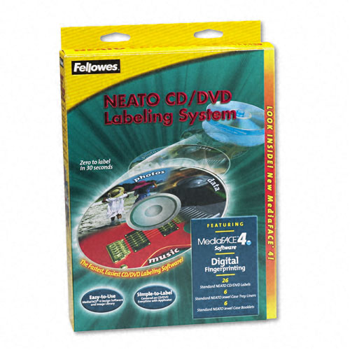fellowes cd label template - superwarehouse fellowes cd label kit with applicator 20