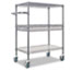 CART,WIRE, 3 TIER BLACK
