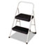 STEPSTOOL,2 STEP, FLD,LGY