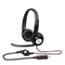 HEADSET,CLEARCHAT USB,BK